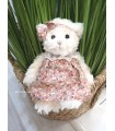 Peluche Ours Robe Rose - Boutique Sauvage
