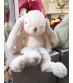 Peluche Lapin Girly Tutu Blanc - Collection