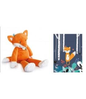 Pantin Renard Orange - Doudou et Compagnie - Peluche Bébé / Enfant - Cadeau Naissance