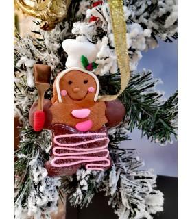 Sujet Pain d'Épices Spatule Cuisine - Sujet de Noël - Déco Noël - Livraison partout en France : Limoges, Tours, Toulouse