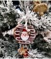 Sujet Donuts Père Noël Joy - Sujet de Noël
