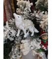 Sujet Loup Strass - Sujet de Noël