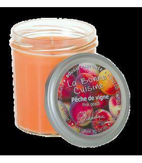 Bougie Pêche de Vigne Lothantique - Boutique Sauvage
