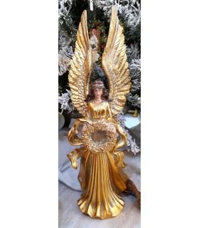 Ange Or Couronne de Noël