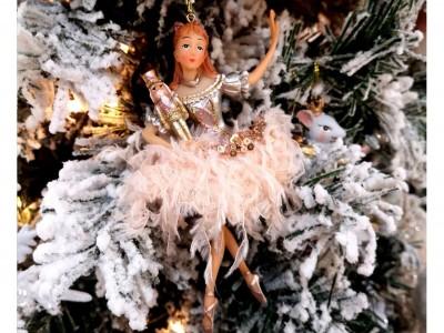 Décoration Noël Chic - Noël 2020 - Thème Rose Féérique / Danseuses